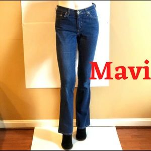 Mavi Molly Flared Low Rise Beautiful Jeans